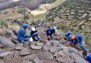 EN TIPON DIRECCIÓN DE CULTURA RESTAURA MÁS DE 2 KILÓMETROS DE CAMINO INKA