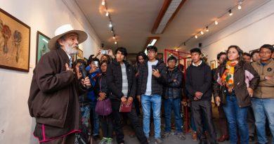 """EXPOSICIONES """"UNUQ TAQE"""" Y """"KAWSASHAYKUN"""" SE REALIZAN CON ÉXITO EN EL MUSEO DE ARTE CONTEMPORÁNEO"""